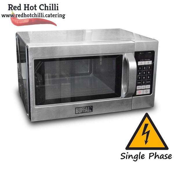 1100W Buffalo Commercial Microwave (Ref: RHC2595)