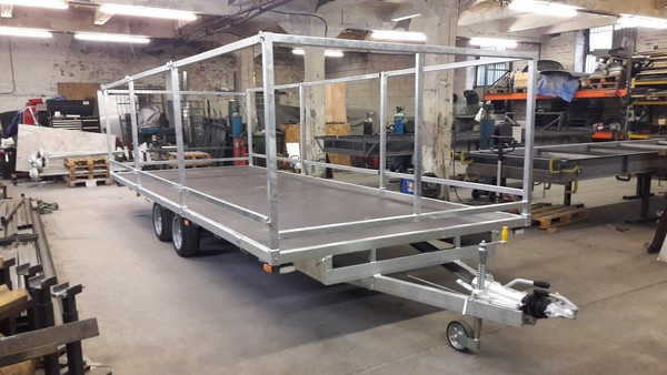 Toilet Trailer Chassis