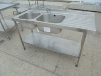 Stainless Steel Double Sink (5470)