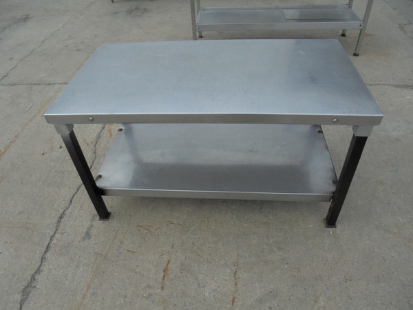 Stainless Steel Low Table/Stand (5475)