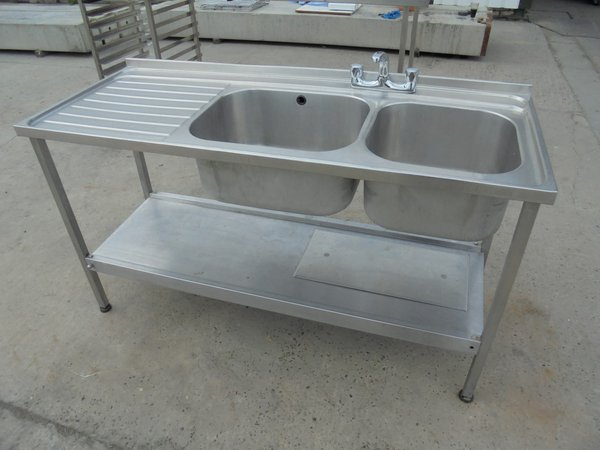 Stainless Steel Double Sink (5476)