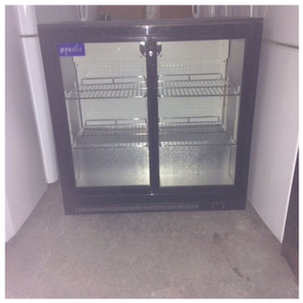 Prodis NT2BS Double Sliding Door Bottle Cooler