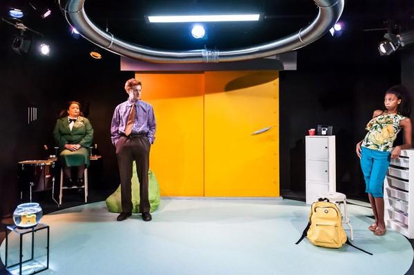 Blast Doors Theatre Stage Set
