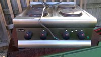 Lincat 4 Ring Commercial Hob Unit Electric