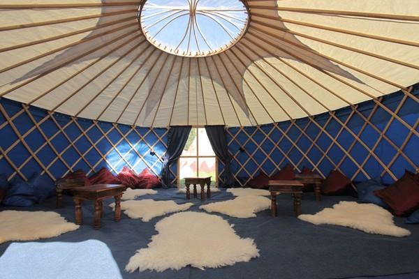 18 Foot Diameter Yurts / Ger's