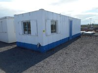 32' x 10' Anti Vandal Office Container Portable Building Open Plan