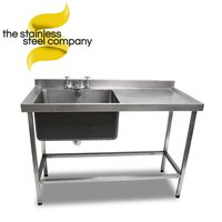 1.3m Stainless Steel Sink (SS135)