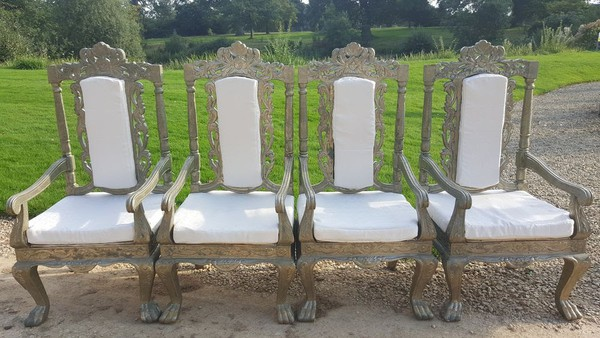 Wedding/Event Antique Throne Chairs For Sale