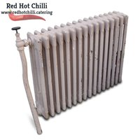 Vintage cast iron radiator