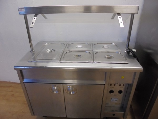 EMH Carvery Unit Bain Marie Hot Cupboard (5491)