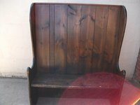 Pub Settle/Bench (Code B 266A)