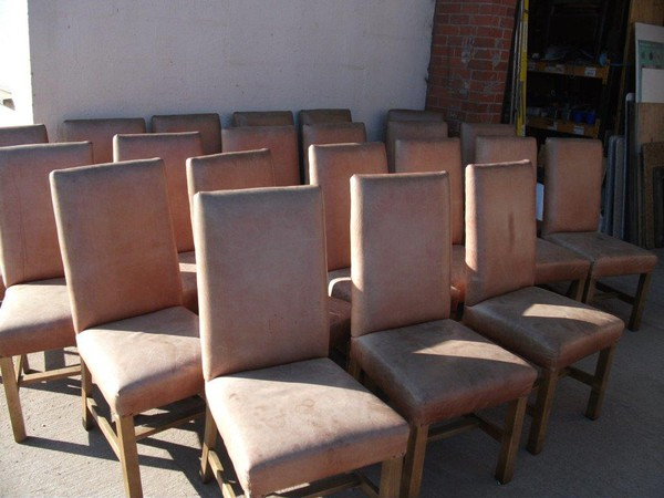 Leather Dining Room Restaurant Chairs