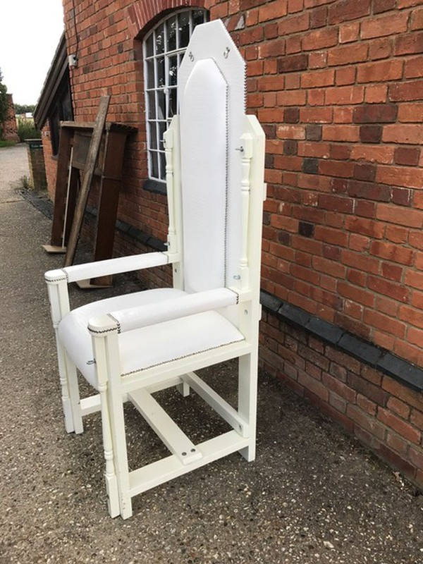 White Throne Prop