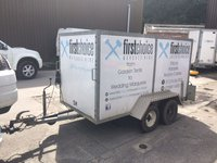 8ft x 4ft x 4ft Double Axel Trailer