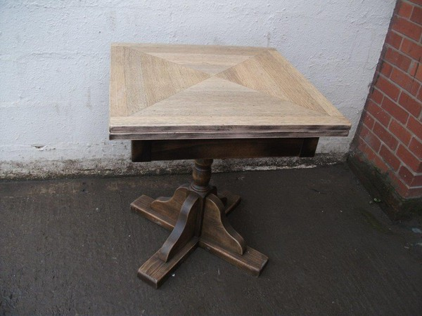 New wooden tables