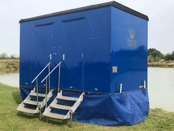 Small toilet trailer for sale