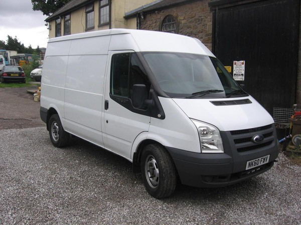 Secondhand Ford transit Preston