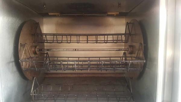 Double Rotisserie Oven