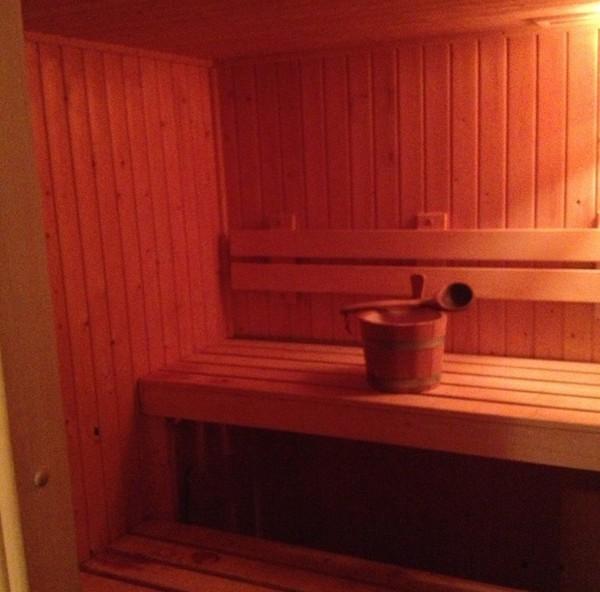 Secondhand sauna room