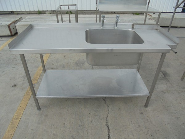 Commercial used single sink