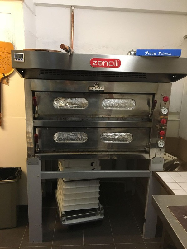 sold twin deck pizza oven london