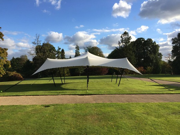 Secondhand stretch tent UK