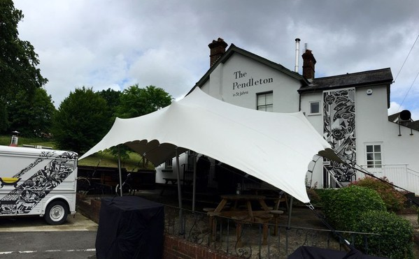 Used stretch tent for sale sussex