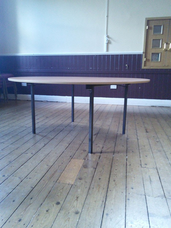 Wood table banqueting for sale