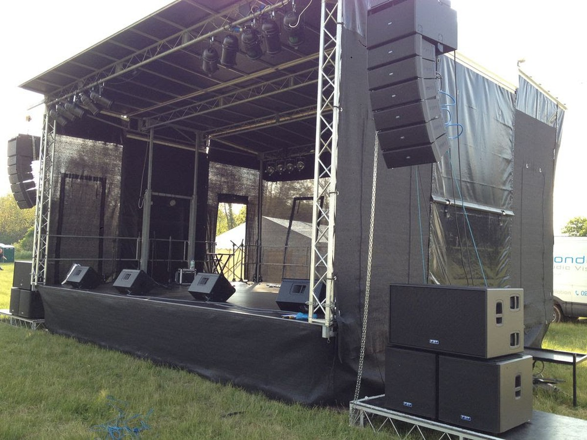 Secondhand Sound And Lighting Equipment Stage Theatre