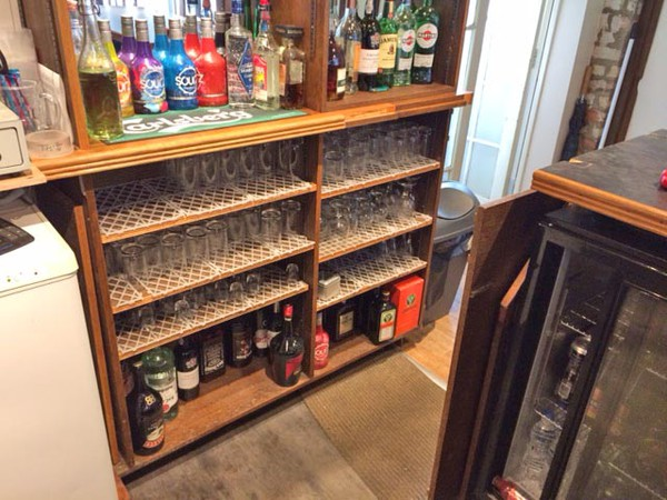 Bespoke Handbuilt wooden bar