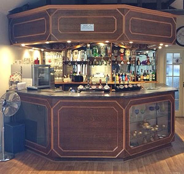 Complete Handbuilt wooden bar