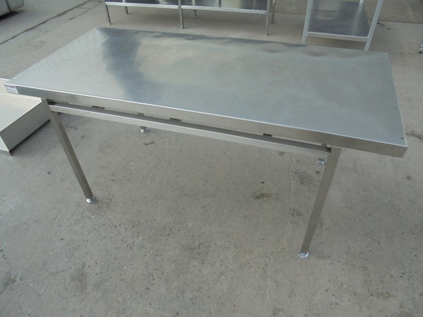 Stainless Steel Low Table (5533) - Bridgwater, Somerset