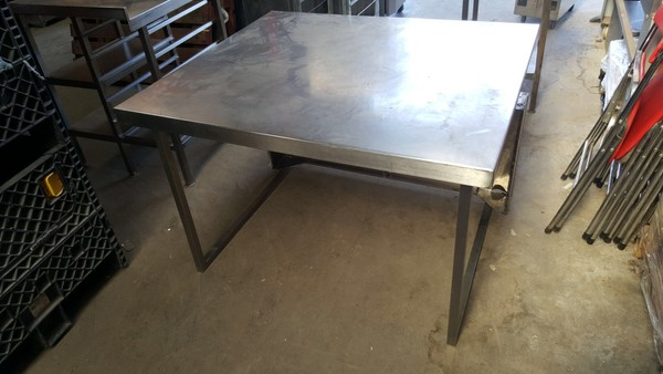 Stainless Table With Void