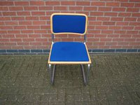 33 x Conference Chair with Blue Upholstery