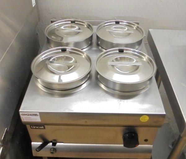 four pot Bain Marie