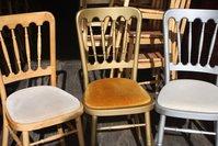 700 x Used Cheltenham Style Stacking Chairs