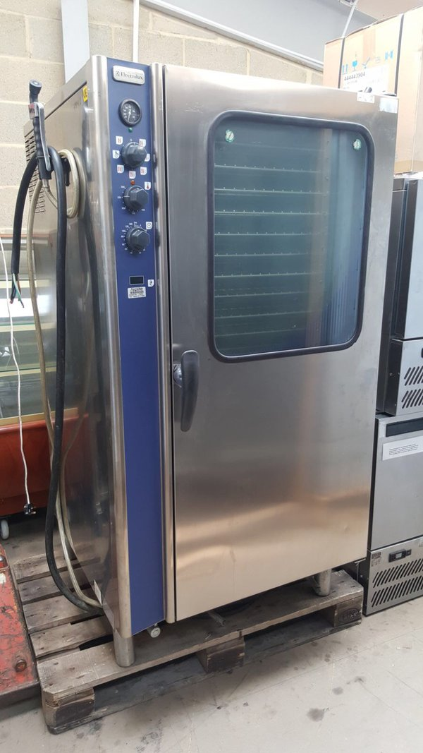Electrolux convection steam oven