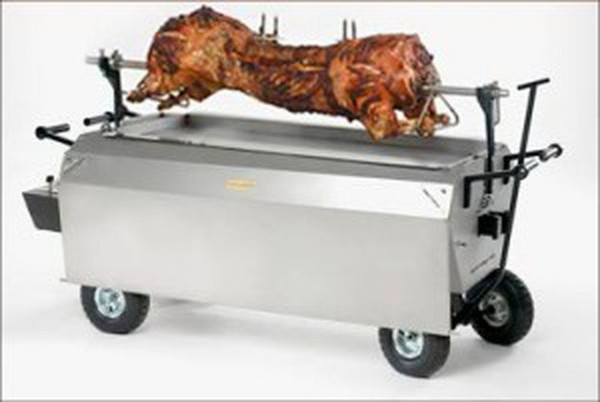 Hog roast van and business for sale