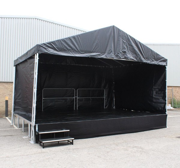 Stage roof and portable stage for sale