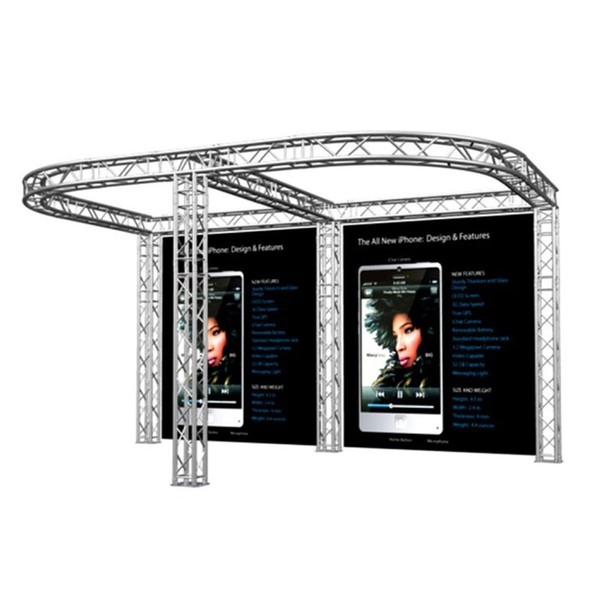 Trade show exhibition stand