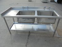 Stainless steel Double sink for sale