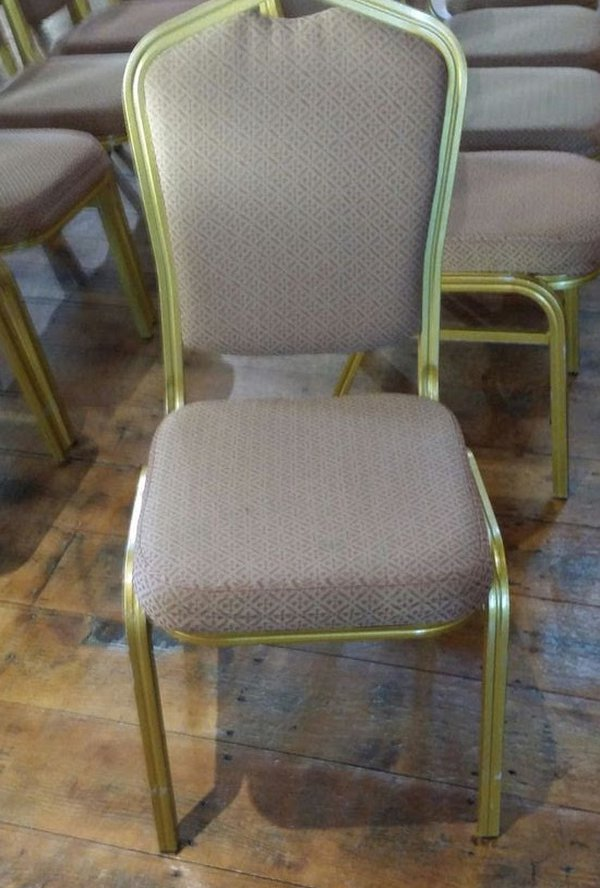 Gold Banquet Aluminium Chairs