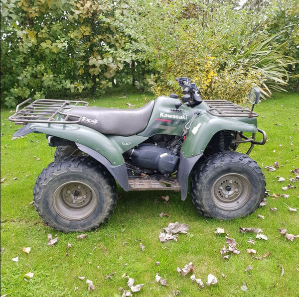 Preowned quad bike v5 UK