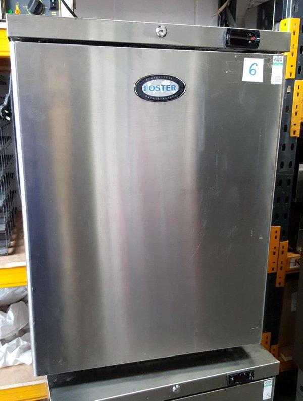 Used stainless steel fridge