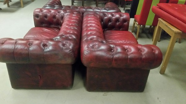 Red pub sofas for sale UK