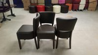 Faux leather chairs for sale UK
