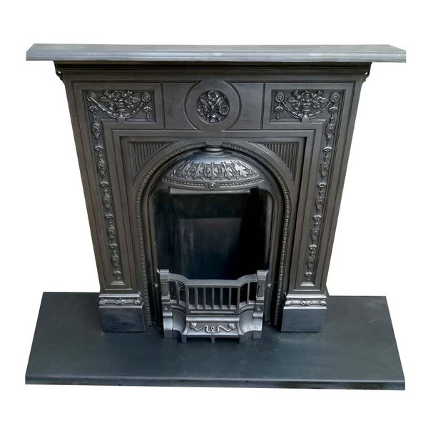 Iron bedroom fireplace for sale