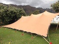 New stretch tent South London