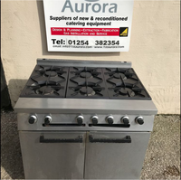 6 grid gas burner oven for sale