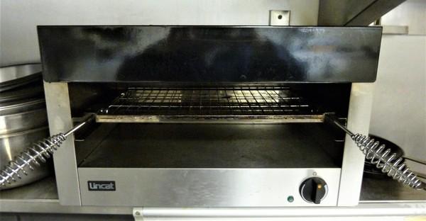 Second hand salamander grill